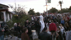 Day of the Dead - Parade - 7 Stock Footage