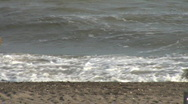 Waves in the seashore Stock Footage