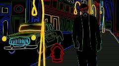 City Scene HD  Stock Footage