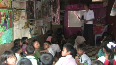 Cambodia: Literacy school - stock footage