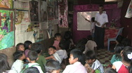 Stock Video Footage of Cambodia: Literacy school