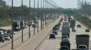 Super Highway, Telephoto 2 Stock Footage