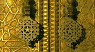 Stock Video Footage of Bronze Gate - Fes - Morocco
