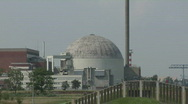 Stock Video Footage of Nuclear power station Stade