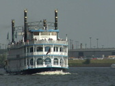 Stock Video Footage of Lousiana Star riverboat