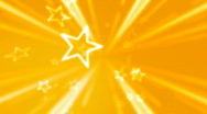 Stock Video Footage of gold star background