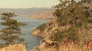 Okanagan lake 01 Stock Footage