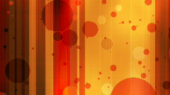 Stock Video Footage of dots in orange and blue 2.32