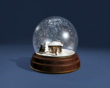 Snowglobe Day 01 - stock footage