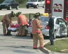 Accident Scene 2 Stock Footage