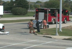 Accident Scene 4 Stock Footage