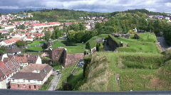 Fortress of Belfort Stock Footage