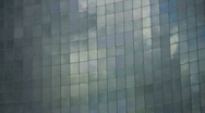 Stock Video Footage of Office Reflections. Rising clouds. Timelapse.