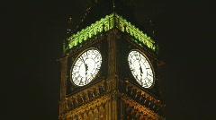 Big ben parliament london uk Stock Footage