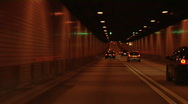 Stock Video Footage of Elbtunnel, Hamburg