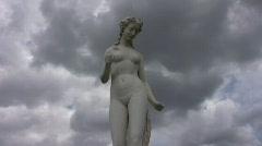 Paris Les Tuileries garden 3 monument Stock Footage