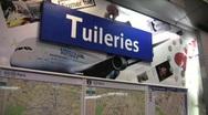 Paris metro 14 Stock Footage