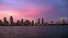 San Diego Harbor TL - stock footage