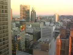 SF City Sunset TL - stock footage