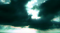 Stock Video Footage of Time Lapse Cloudscape HD 1 Green