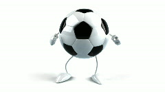 Soccer player Stock Footage