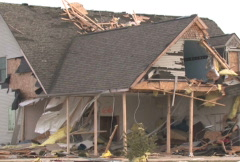 Destroyed Home 3 Stock Footage