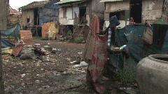 Cambodia: Slums of Phnom Penh Stock Footage