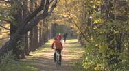 Autumn park 003 26s Stock Footage