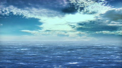 Ocean, Sunny Day - stock footage
