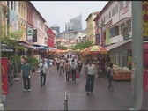 Stock Video Footage of Singapore Pedestrians
