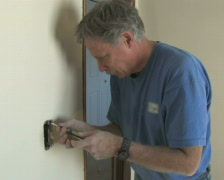 Installing Light Switch 1 Stock Footage