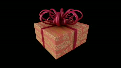 Xmas Gift 001 HD element 001 Stock Footage