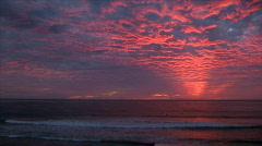 California Sunset - stock footage
