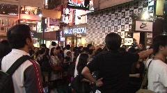 Nike store opening in Hong Kong 3 Stock Footage