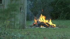 Raging Bonfire Stock Footage