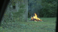 Raging Bonfire Stock Footage