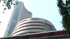Bombay Stock Exchange 3 Stock Footage