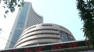 Bombay Stock Exchange 3 Stock Footage