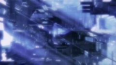 SpaceCorridor Stock Footage