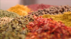 Stock Video Footage Spices Stock Footage