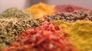 Stock Video Footage of Spices