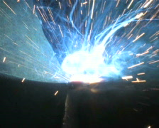 Welding Torch, Close Up Stock Footage