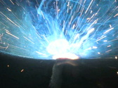 Stock Video Footage of Welding Torch, Close Up