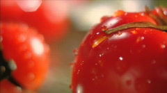 Vegetables in moving (sequence) 005 Stock Footage