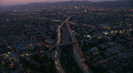 Stock Video Footage of LA aerials.