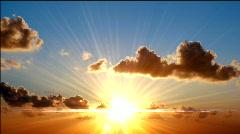 Sunny sky Stock Footage