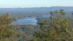 Lake James, North Carolina 02 - stock footage