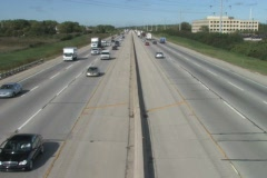 Super Highway, Wide Angle 1 Stock Footage