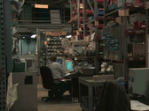 Stock Video Footage of Warehouse Office