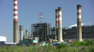 Thermal Power Station Stock Footage